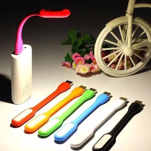 lampara usb luz led surtidas al por mayor x 12 und / pc