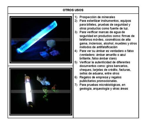 lámpara uv germicida. elimina virus y bacterias $13.39+iva