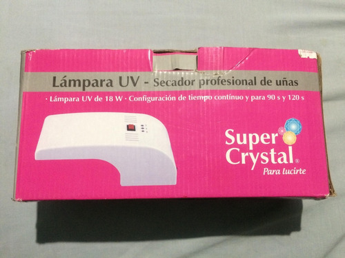 lampara uv - secador profesional de uñas.