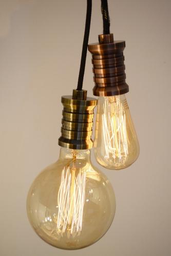 lampara vela viento de carbono e14 miñon 20w dimerizable