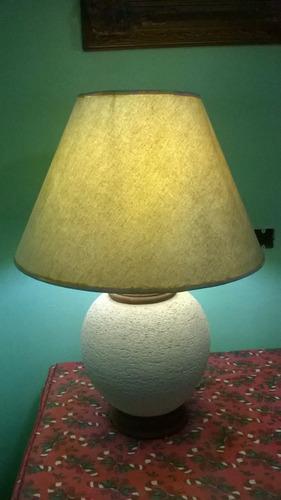 lampara velador antiguo de mesa