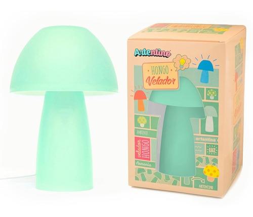 lampara velador hongo caja regalo artentino original deco