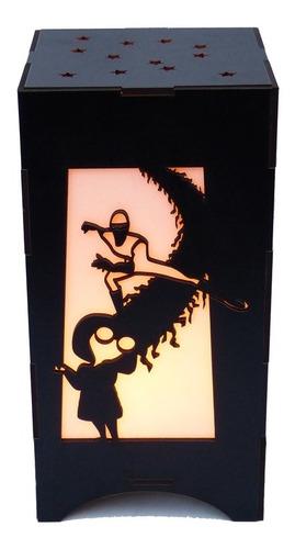 lampara velador infantil luz de noche los increibles