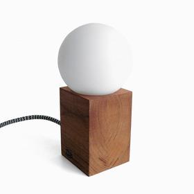 Lámpara Velador Madera Nórdico Lekita Klik Iluminación