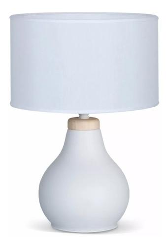 lampara / velador mari blanca