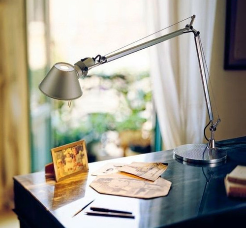 lámpara velador mesa