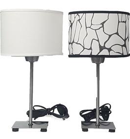 Unico Lampara Velador Con Pantalla Diseño Moderno dCWexBor