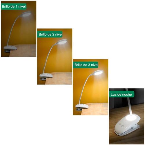 lampara velador tgx táctil 20 led usb flexible premium