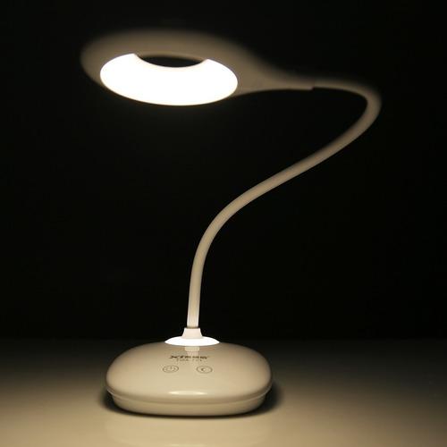 lampara velador touch led recargable flexible innovador 6hs