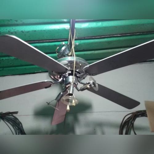 lámpara-ventilador para techo