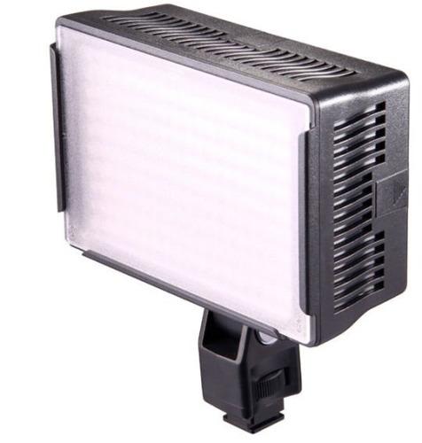 lampara video light 170 leds 1.100 lumenes con mango soporte
