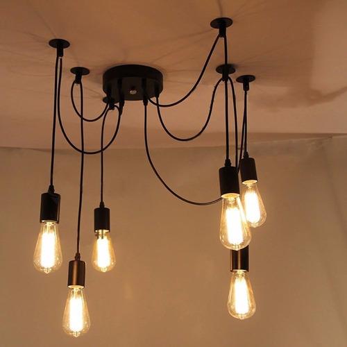 lampara vintage de luces colgantes