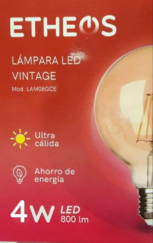 lampara vintage globo 4w filamento c60