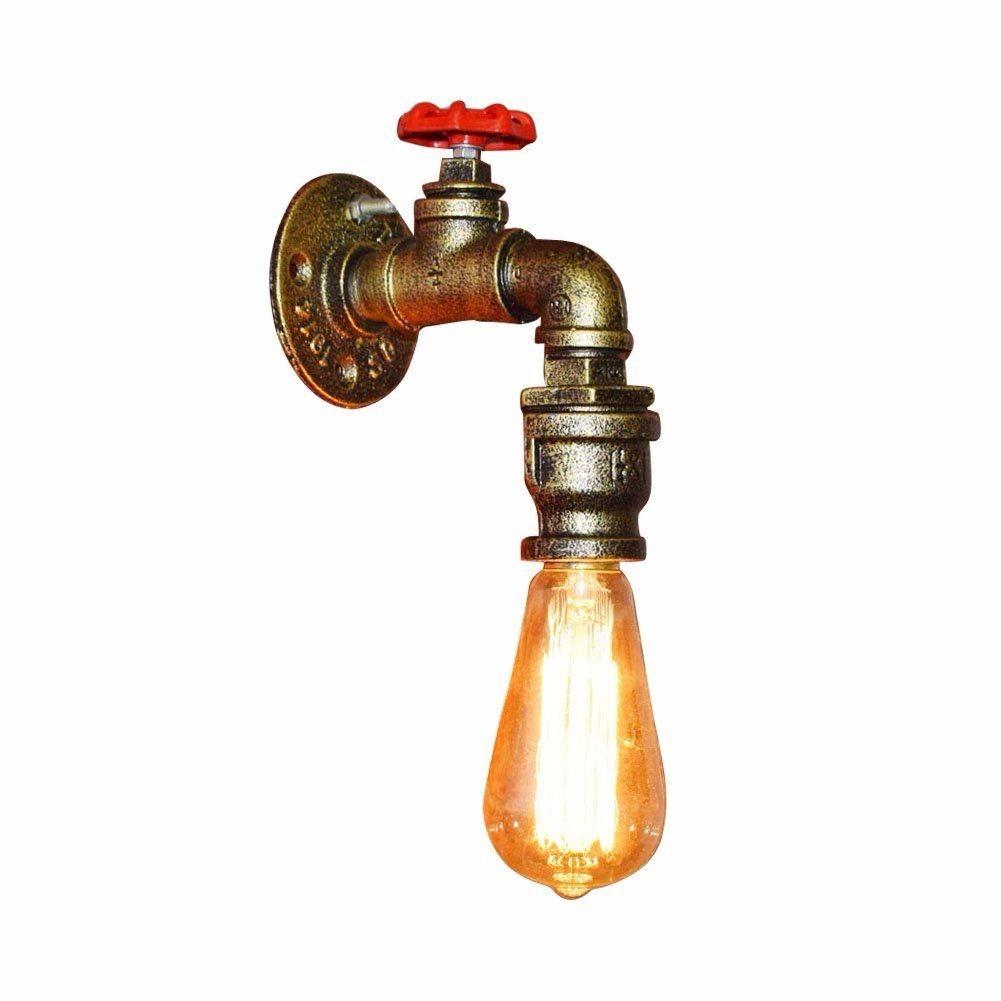 L 225 Mpara Vintage Industrial De Pared Llave Tuber 237 A De Agua