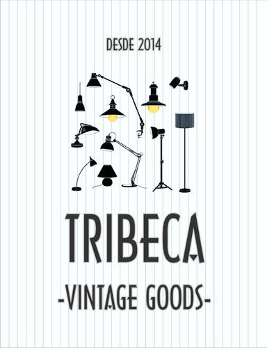 lámpara vintage linterna de mesa tribeca