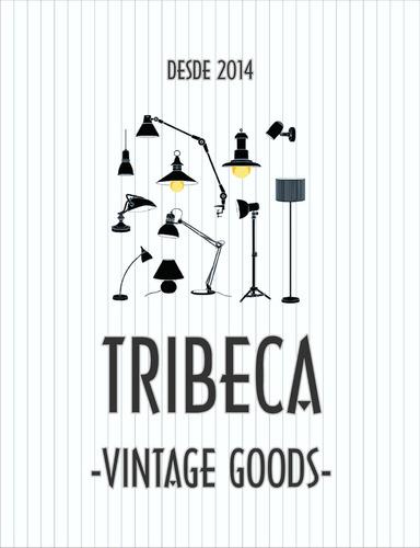 lámpara vintage reflector grande teatro c tripie tribeca