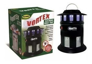 lampara vortex mata mosquitos zancudos moscas insectos