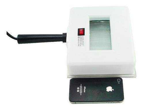 lampara wood ultravioleta cicatrices portatil analizadora