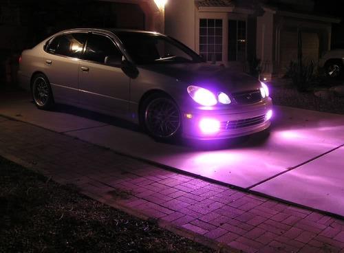 lampara xenon 9006  30000k pink rosado- unidad