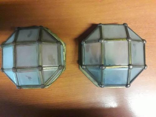 lamparas aplique bronce tipo tortuga