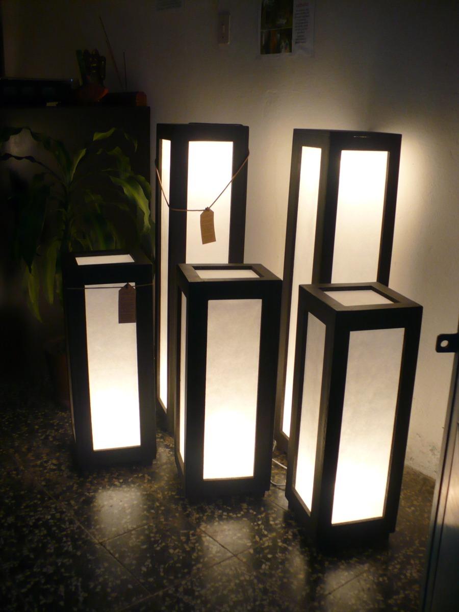 Lamparas artesanales minimalistas bs 980 00 en mercado - Lamparas de pie minimalistas ...