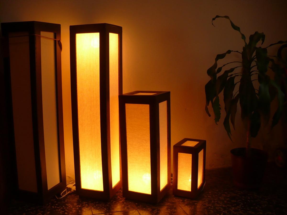 Lamparas artesanales minimalistas bs en - Lamparas de pie artesanales ...