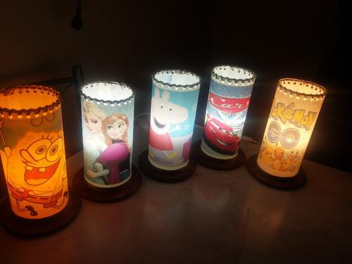 lamparas artesanales portatil impresas
