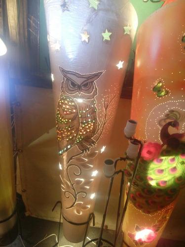 lamparas artesanales villa iluminada.