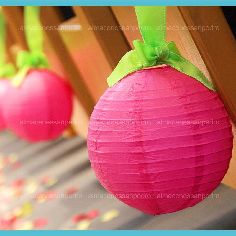 Lamparas chinas 30cms decora tu evento y hogar 10 piezas for Decoracion de lamparas
