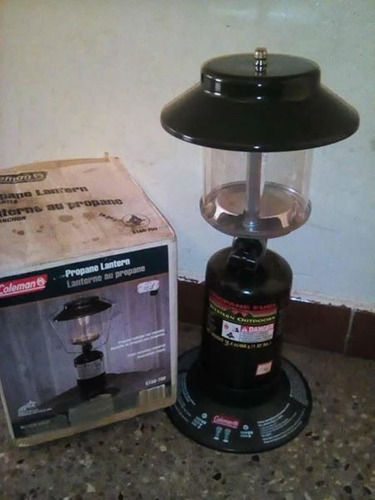 lámparas coleman