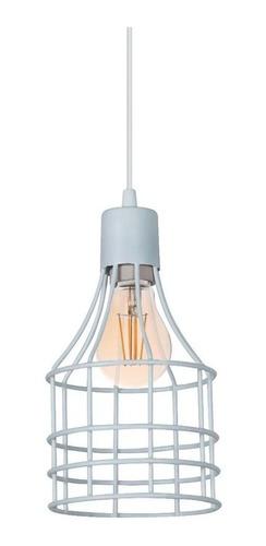 lamparas colgantes alambre jaula con lampara antique vintage