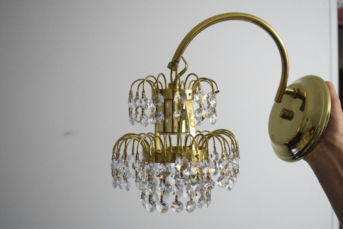 lamparas colgantes cristal bronce