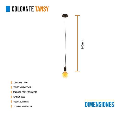 lamparas colgantes leuk tansy vintage industrial ideal deco