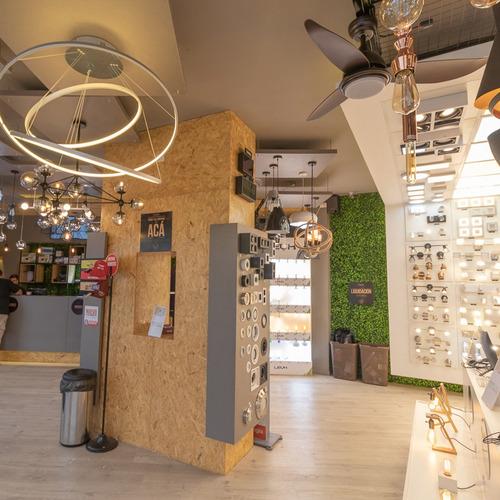 lámparas colgantes modernas anker led negro cocina living ff