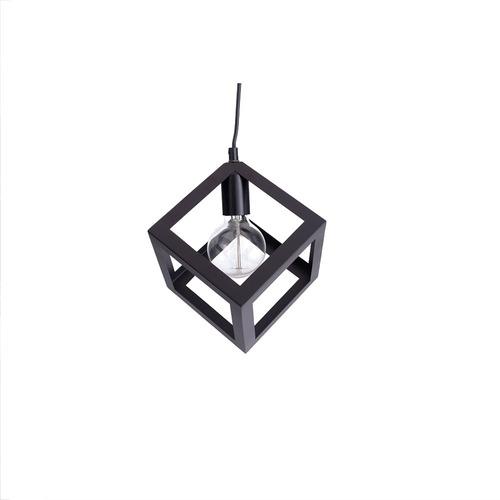 lamparas colgantes modernas leuk cubo kyvos led living cube simil jaula apto led living iluminacion techo