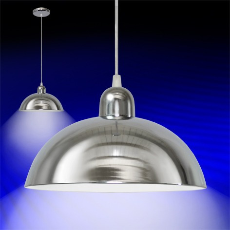 lamparas colgantes luz cromo para cocina comedor tvf