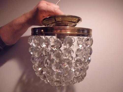 lamparas cristal checo