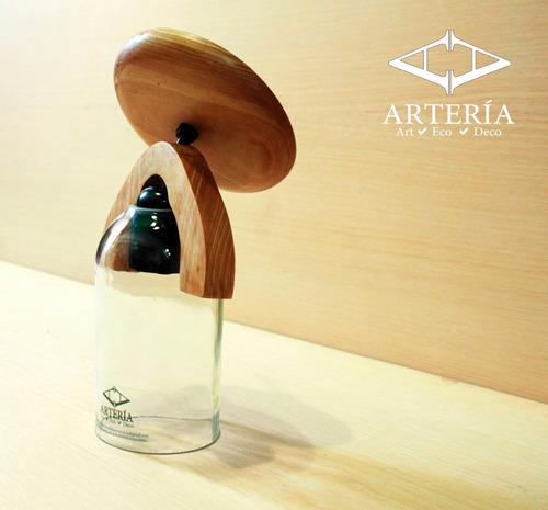 lámparas de botellas artería de pared diseño ecológico