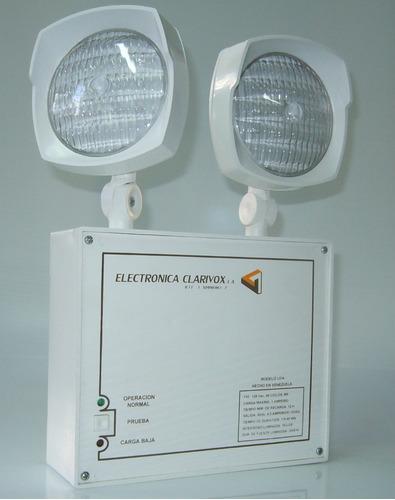 lámparas de emergencia taller de reparación y adaptación