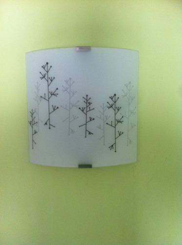 lámparas de pared pantalla luz de oro