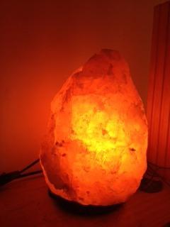 lámparas de sal, himalaya