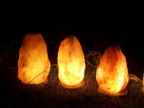 lamparas del himalaya  grandes  de  8 kilos