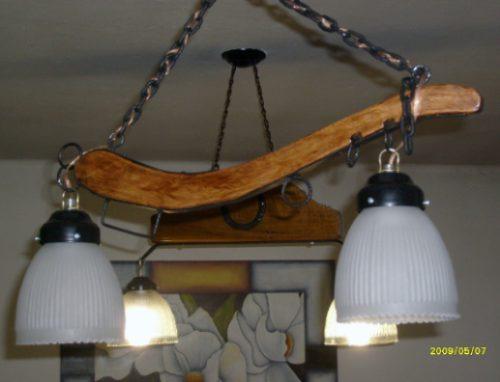 lamparas estilo campo de un yuguillo