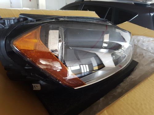 lamparas faros delanteros volkswagen golf 2012 a 2017 nuevas
