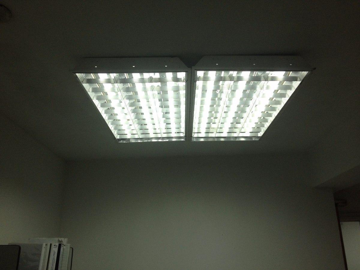 L mparas fluorescentes de techo 3 tubos 60 x 120 bs 18 - Lamparas para techo ...