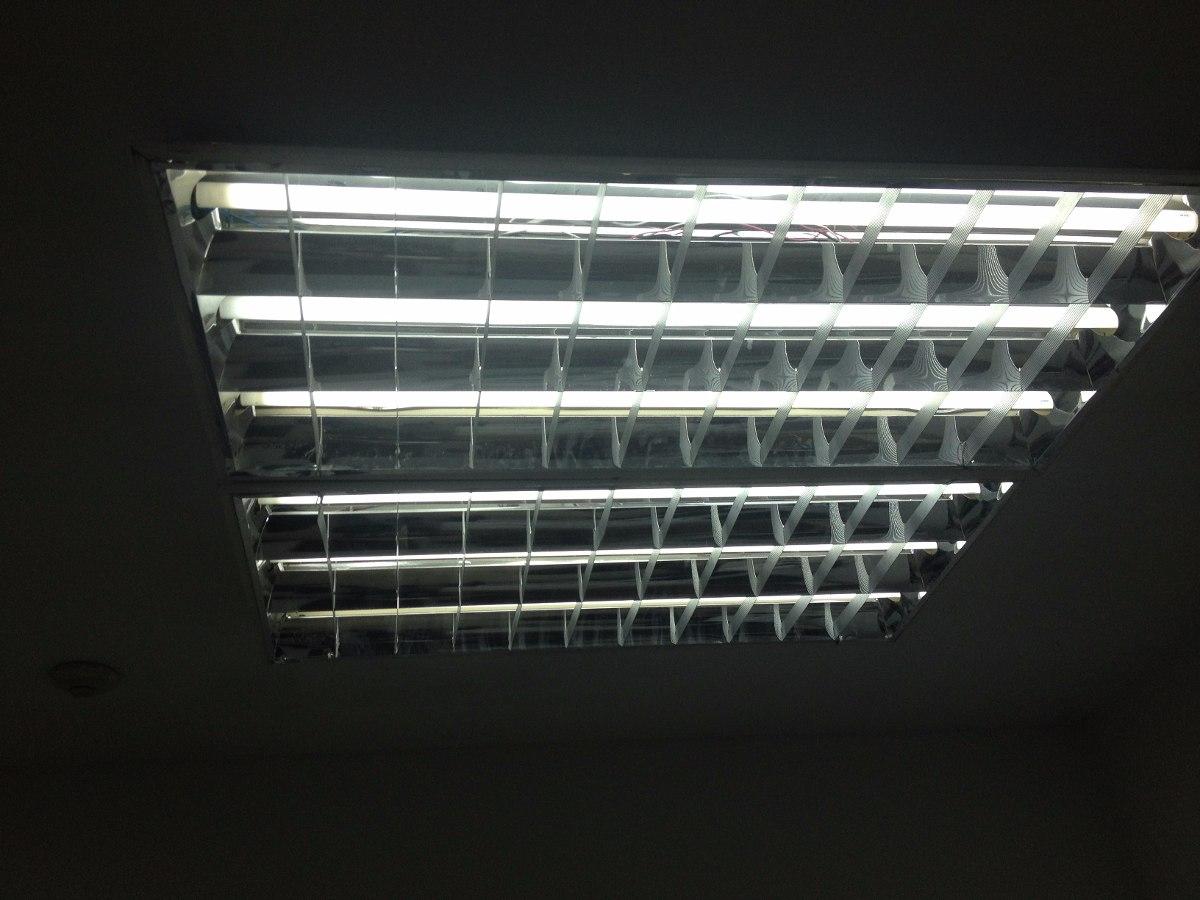 L mparas fluorescentes de techo 3 tubos 60 x 120 bs 18 for Wohnzimmertisch 60 x 120