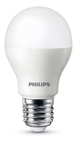 lamparas foco philips led bulbo 4w = 40w calida e27 oferta