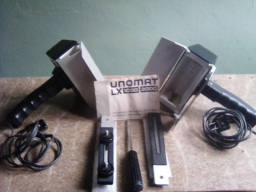 lámparas fotográficas profesionales unomat lx 1000 w (100$)