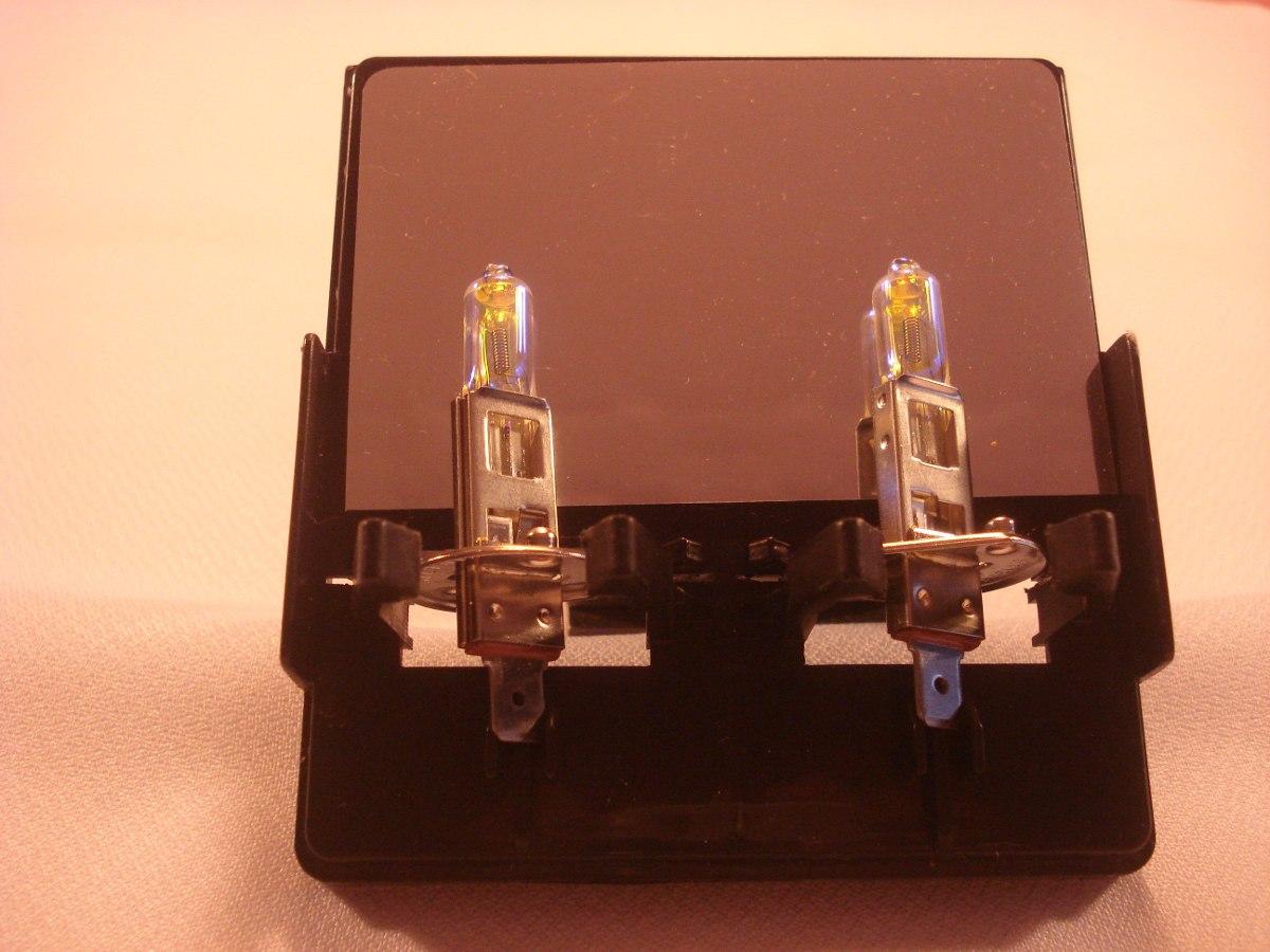 lamparas halogenas h v w ion coating amarillo