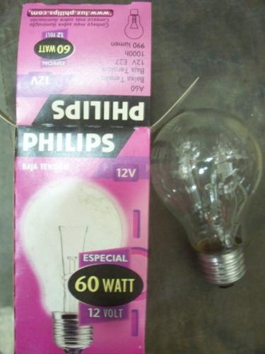 lámparas incandescentes  especial  60 w 12 v